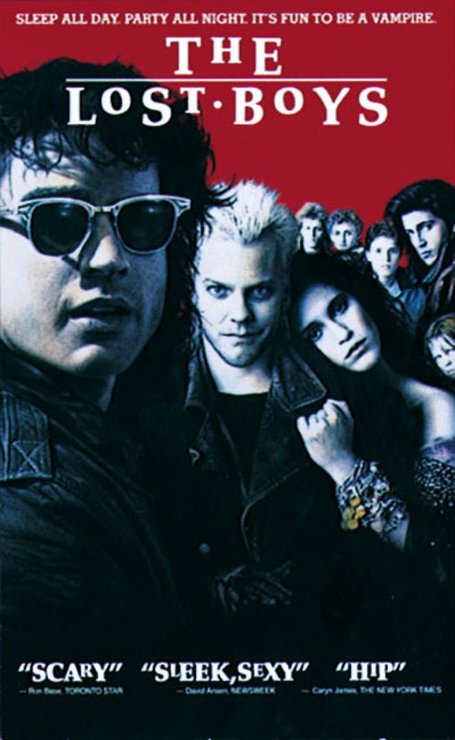 the lost boys - cinema in the woods - nottingham - outdoor cinema - lime lane woods - notts maze